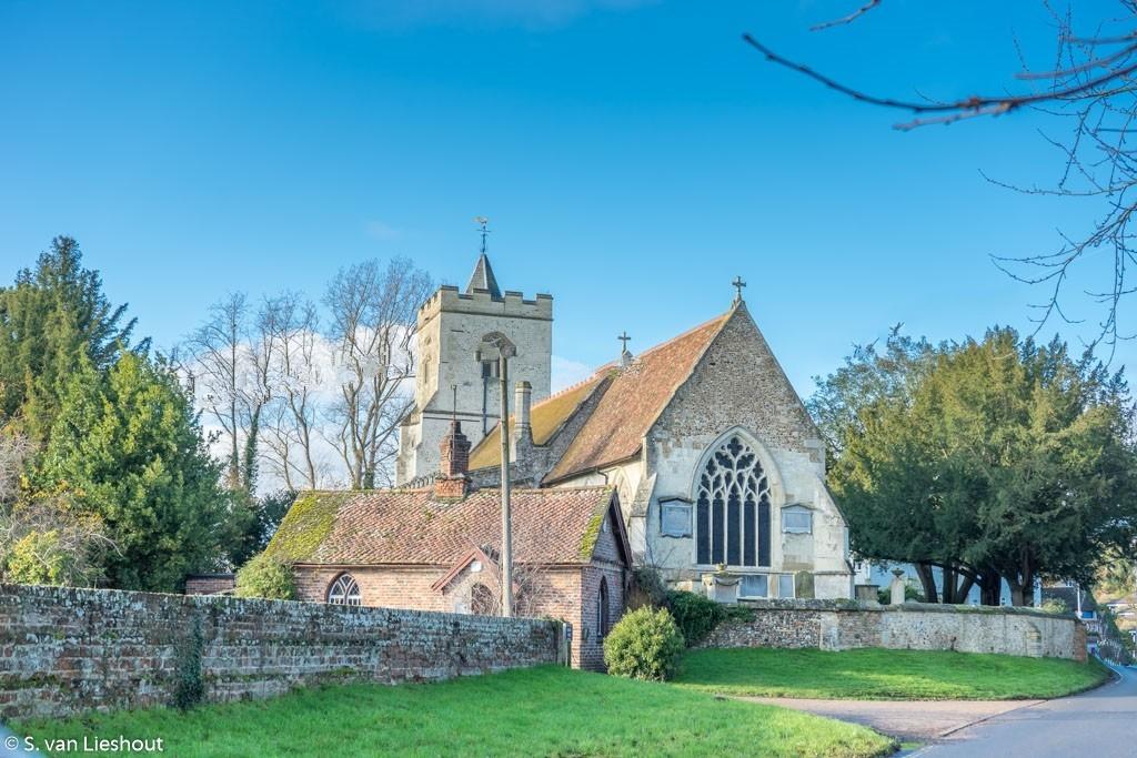 Grantchester kerk