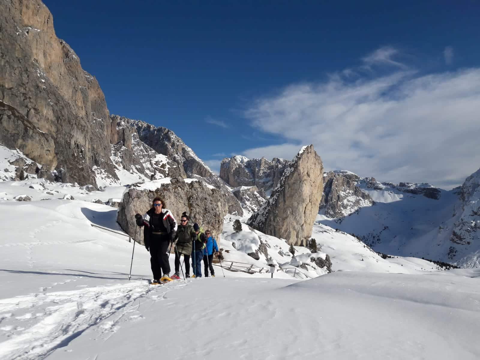 Val Gardena  Italy skiing
