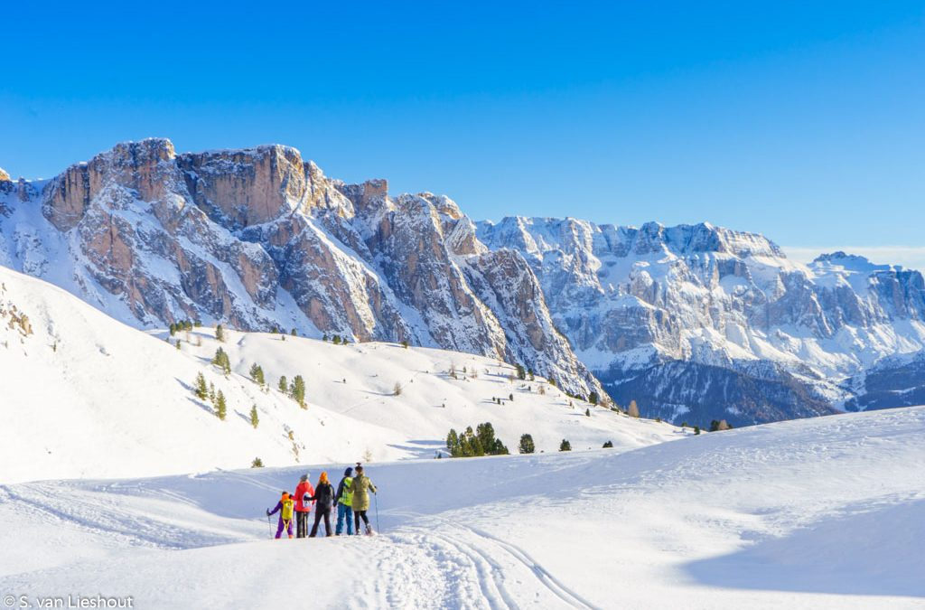 Val Gardena, a stunning ski-resort in the Dolomites