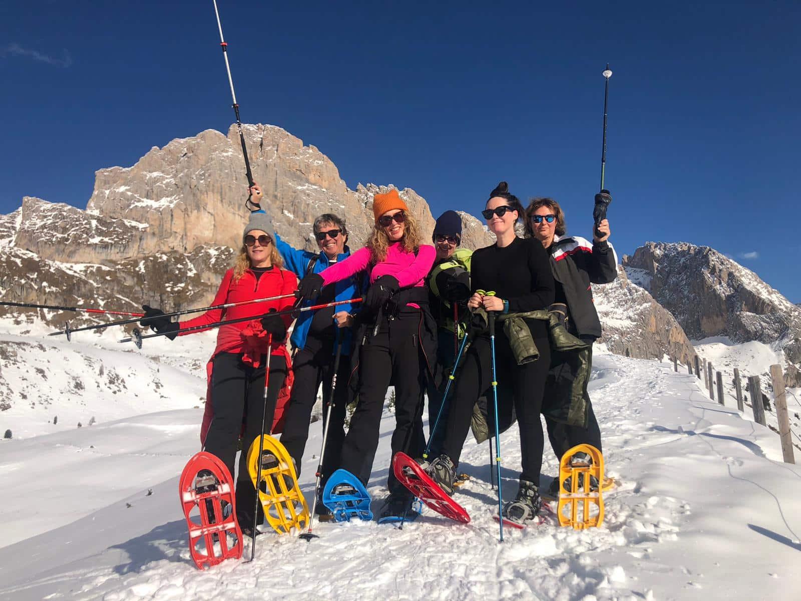 Val Gardena winter sports Italy