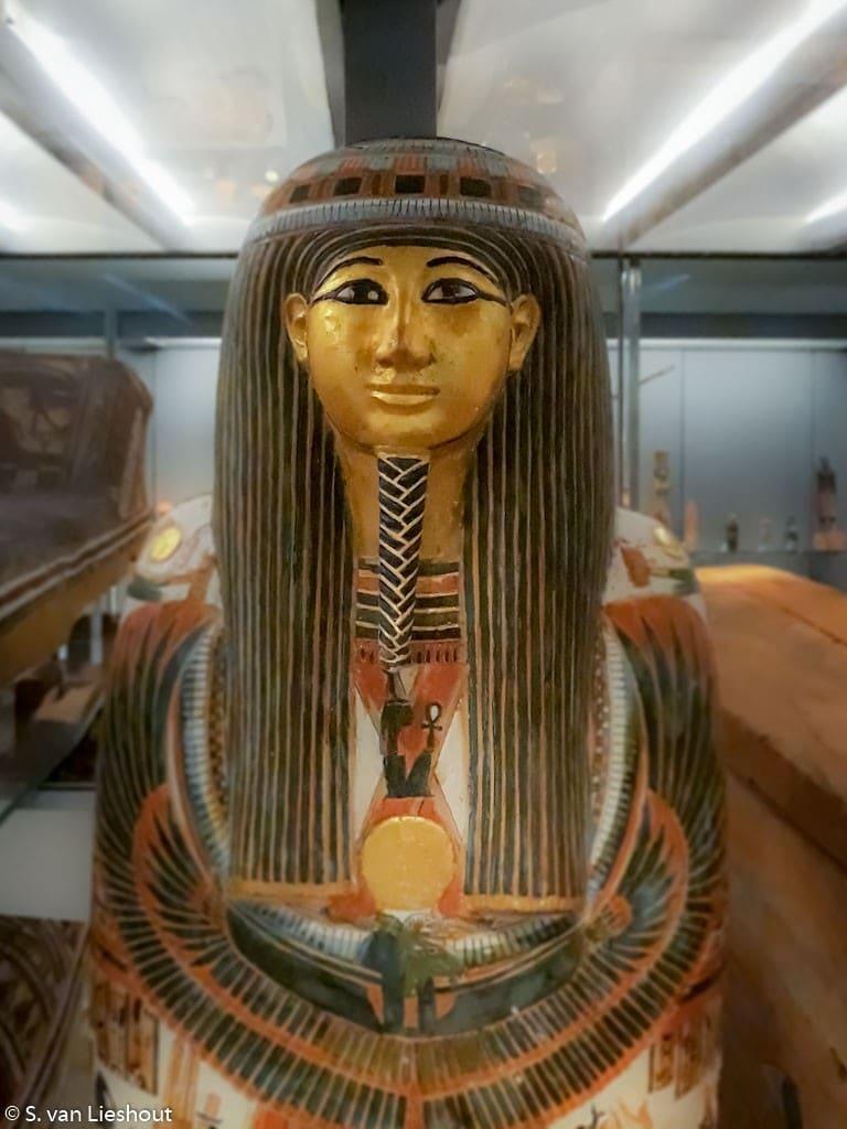 Egyptische sarcofaag Fitzwilliam