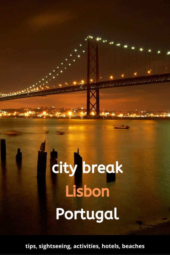 Sightseeing Lisbon Portugal