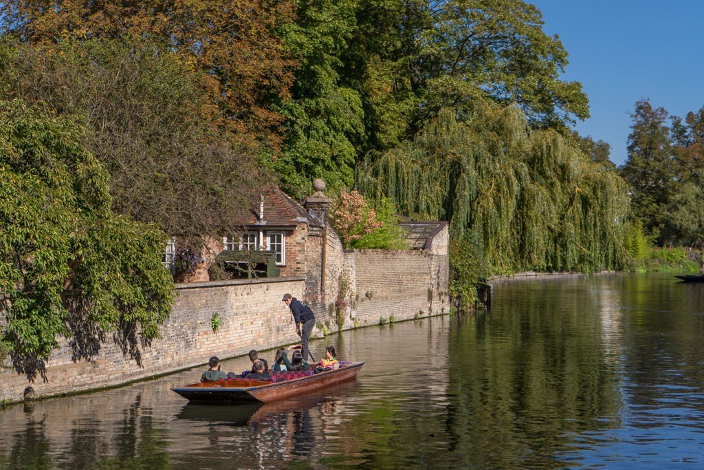 punting Cambridge