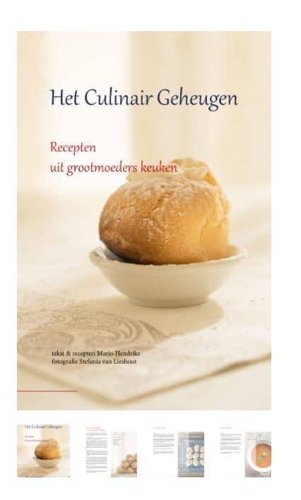het Culinair Geheugen kookboek
