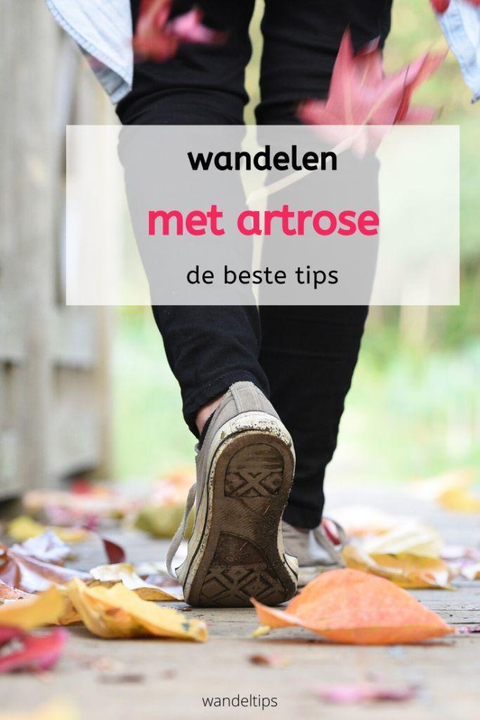 wandelen artrose tips