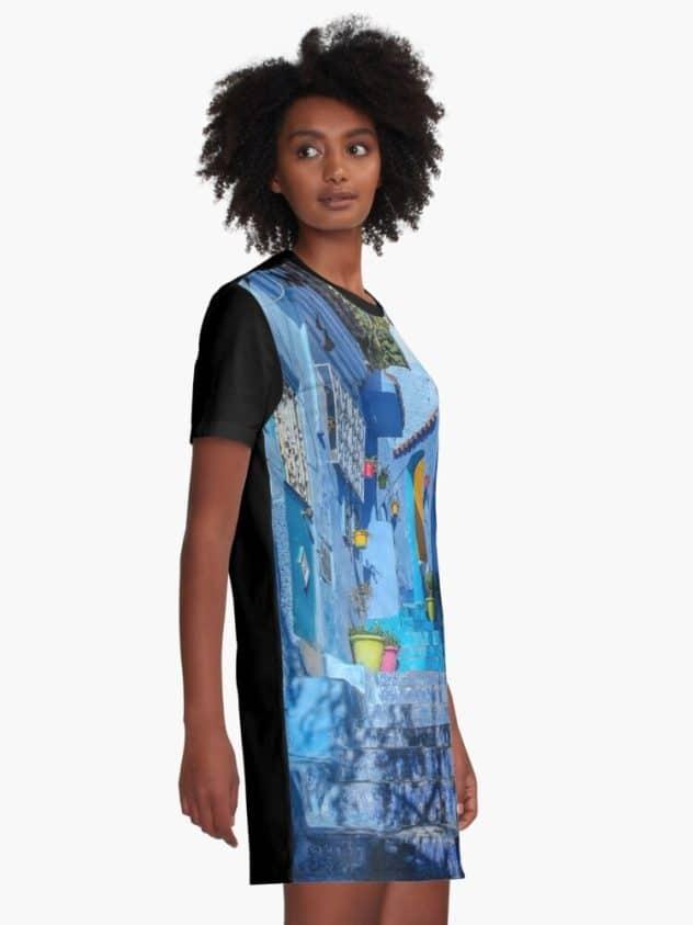 dress moroccan blues