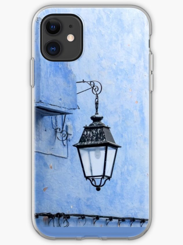 iphone soft case feeling blue