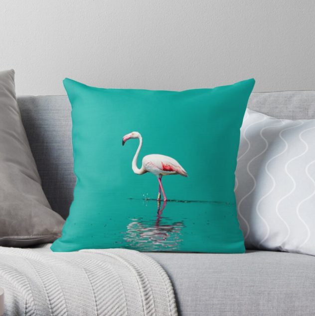 pillow flamingo