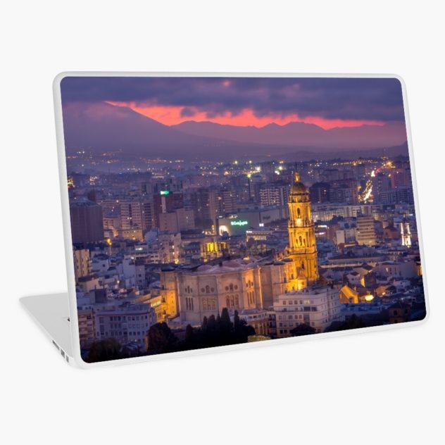laptop skin Malaga cathedral