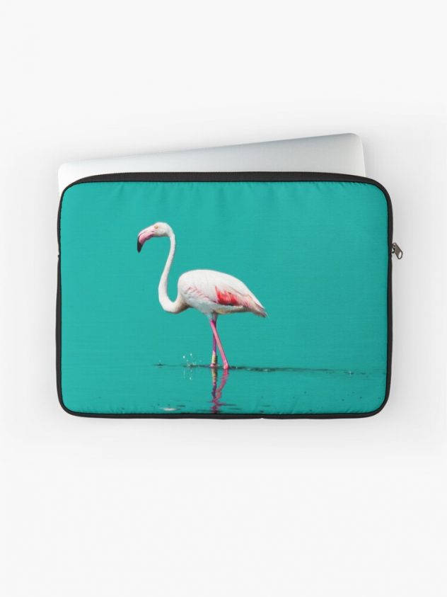 laptop sleeve flamingo