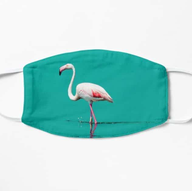 mondkapje flamingo