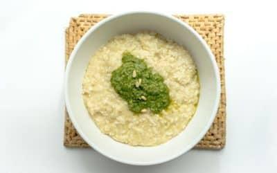 Het ultieme recept voor risotto met pesto