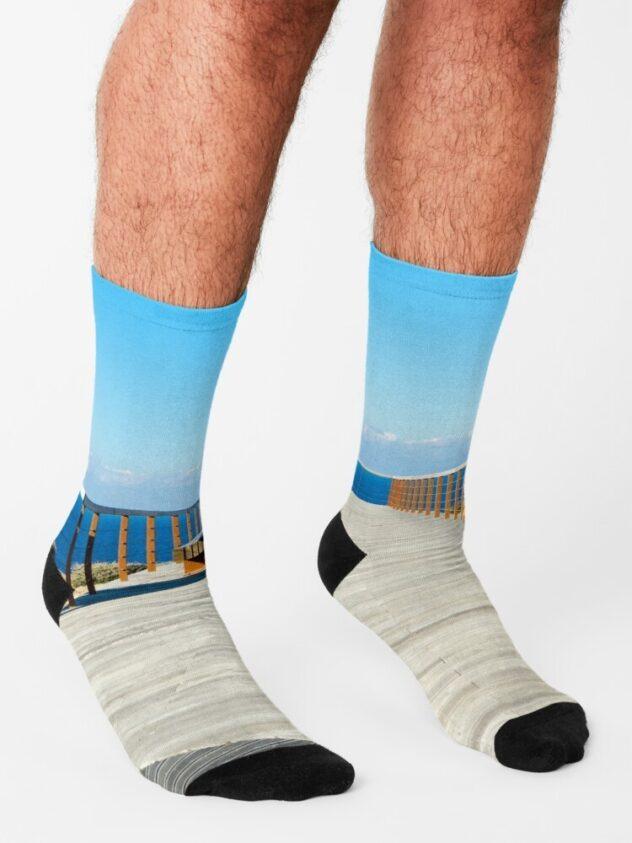 sokken Atlantic blue