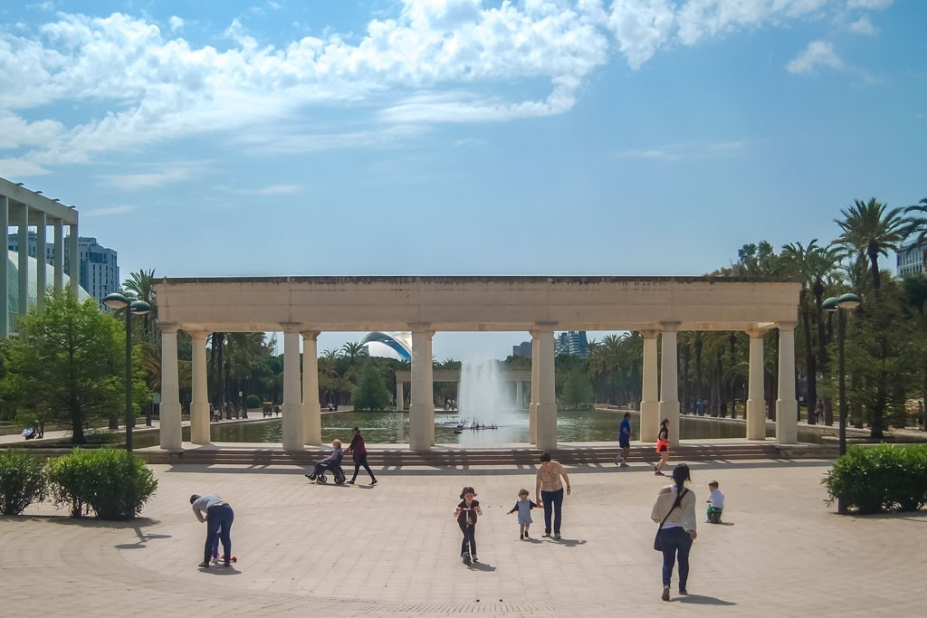 Turia Riverbed Park Valencia