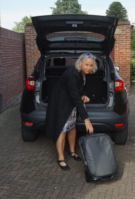 Handbagage in het vliegtuig: het Osprey carry-on rolkoffertje