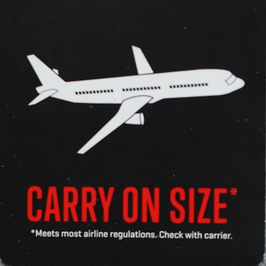 carry-on koffer formaat