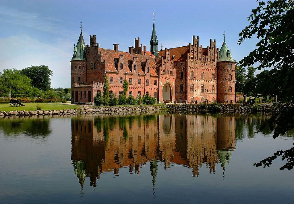 Funen slot Denemarken