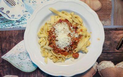 Pasta Bolognese di Mamma, delicious and home-made