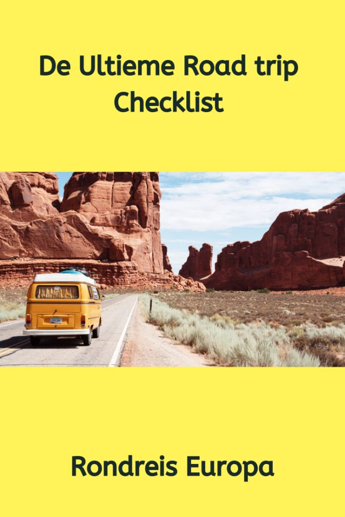 checklist roadtrip