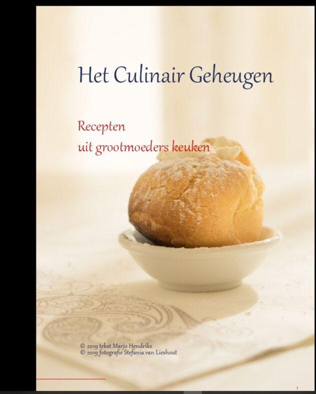 Kookboek Culinair Geheugen