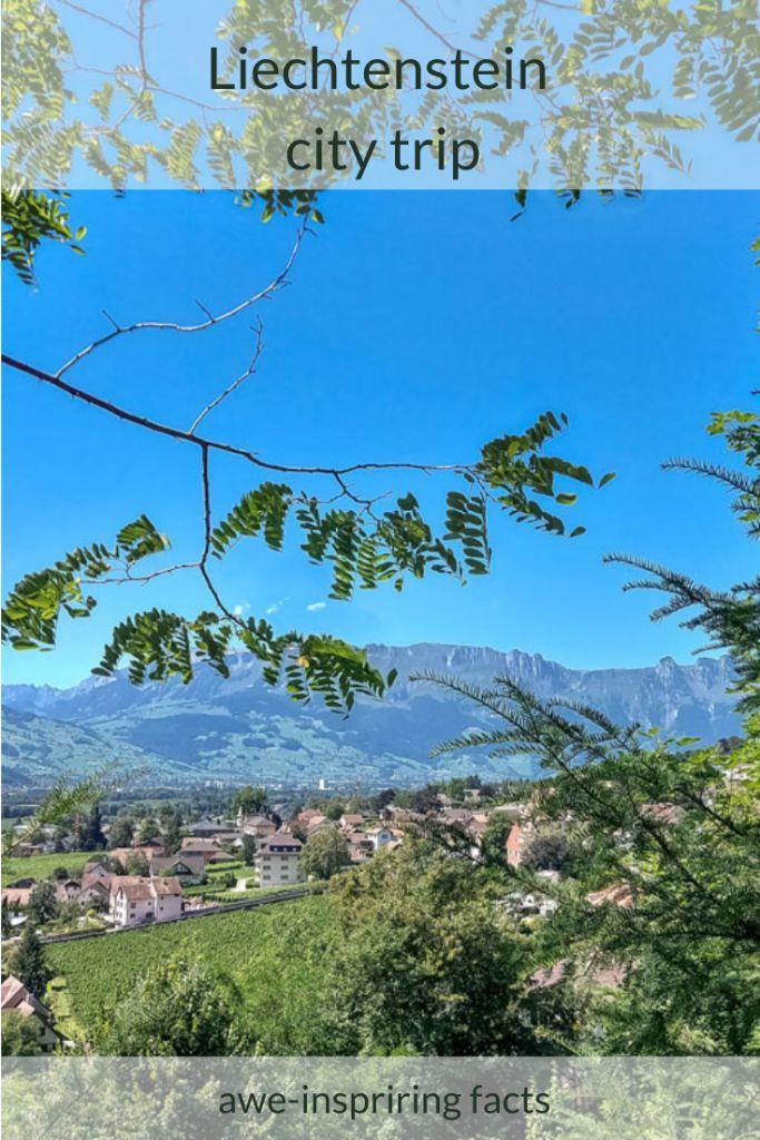 Liechtenstein city trip