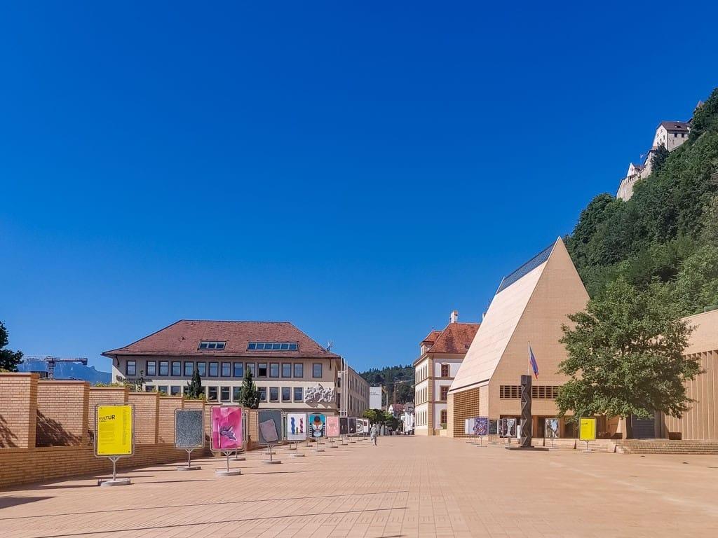 Hoofdstraat Vaduz