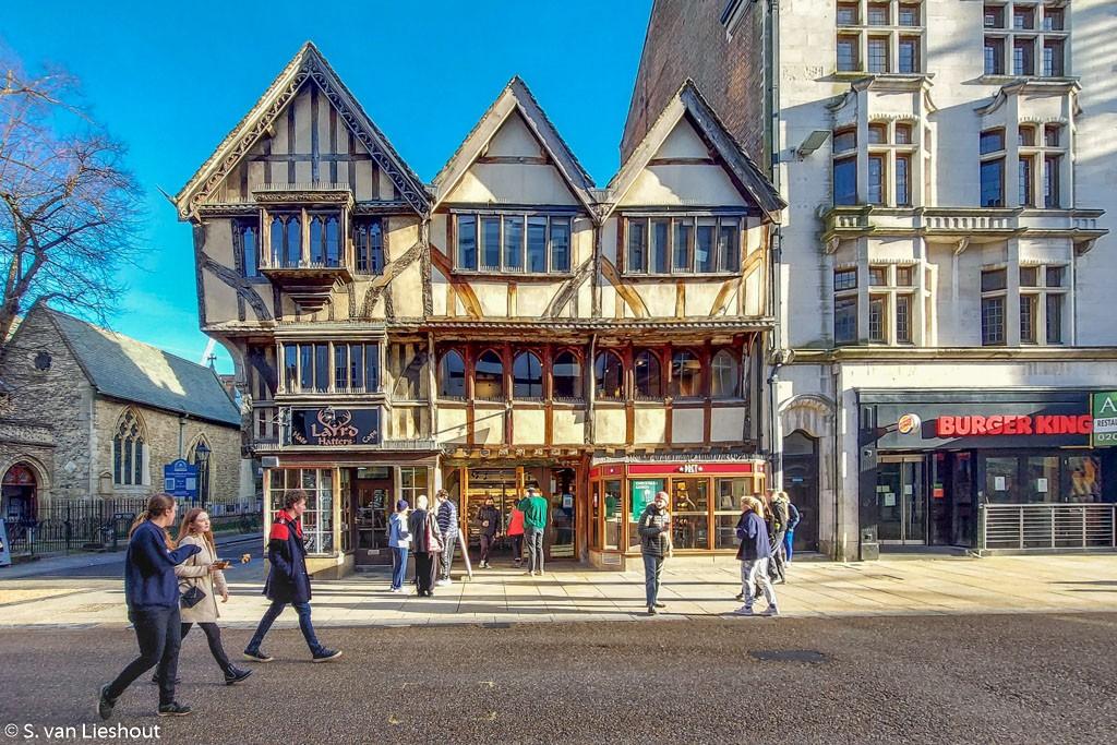 Cornmarket Street Oxford