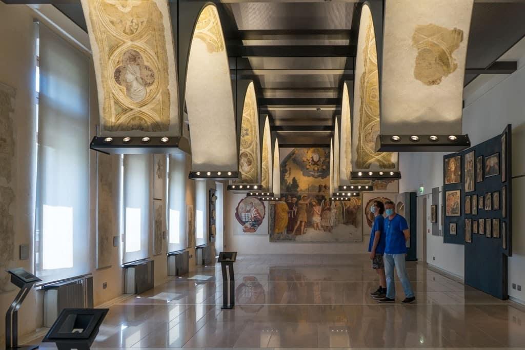 Museo delgi Affreschi GB Cavalcaselle