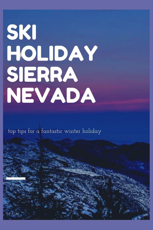 ski holiday Sierra Nevada Spain