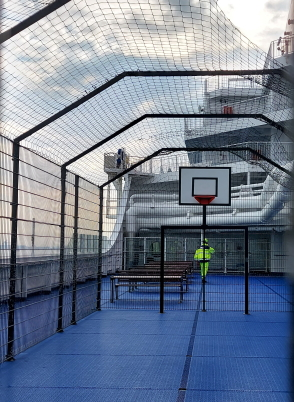 basketbal veld