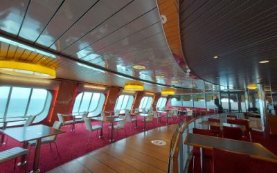 The ferry from Harwich to Hoek van Holland in the Netherlands: tips