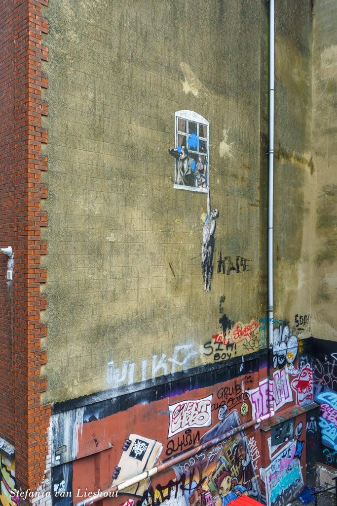 Banksy mural Bristol