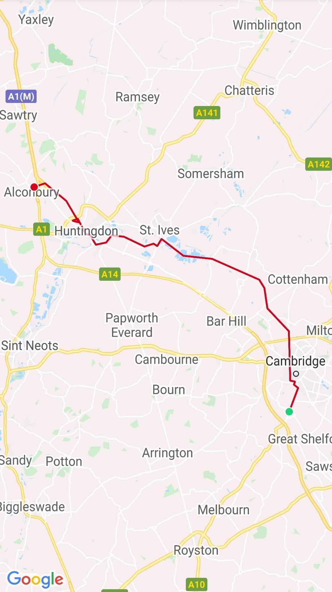 Cambridge - Alconbury
