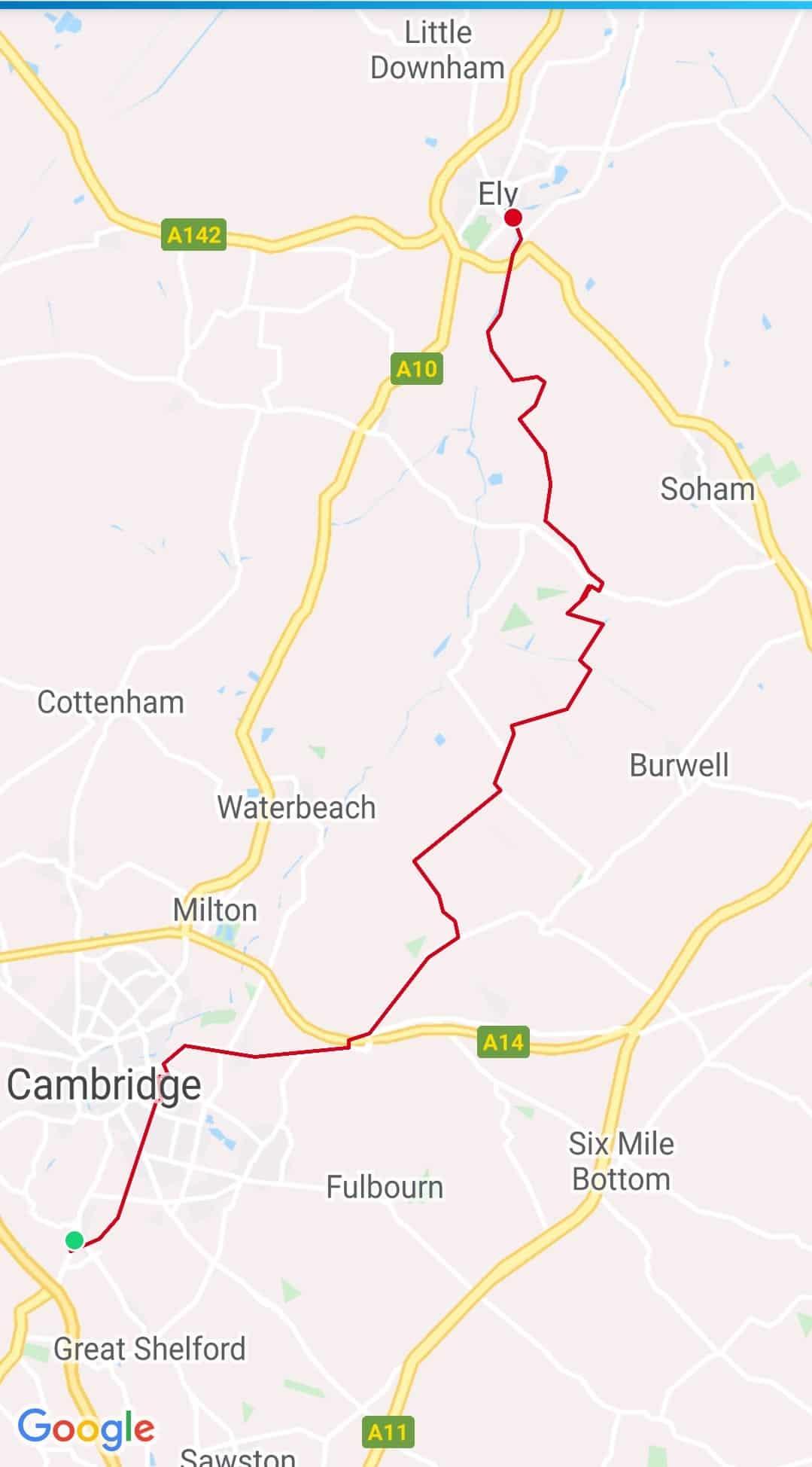 Cambridge - Ely