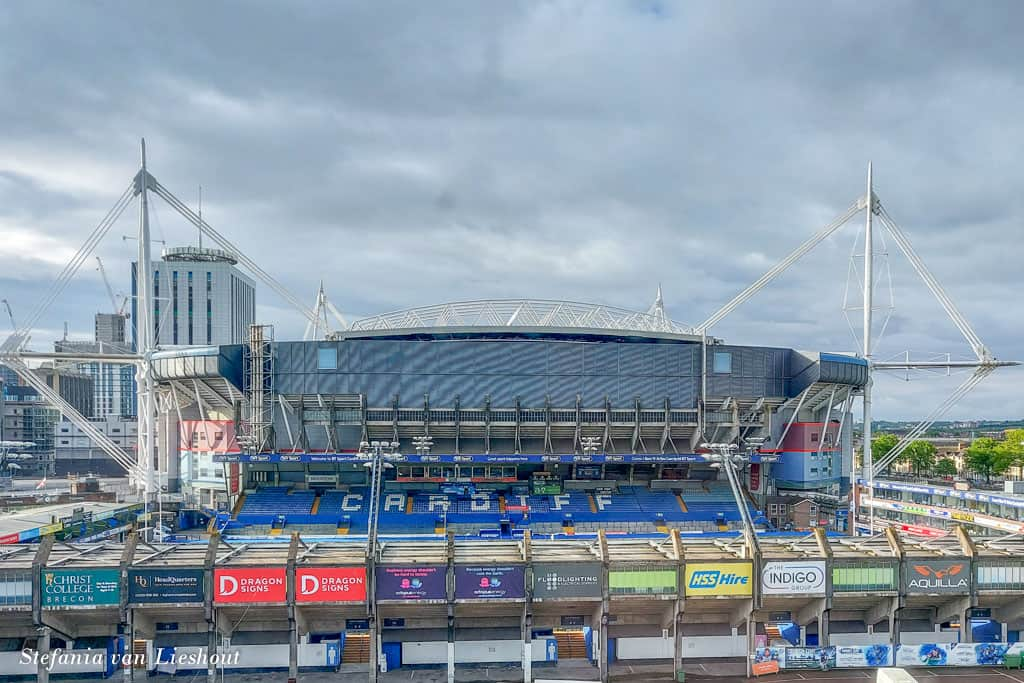 Cardiff rugby stadion