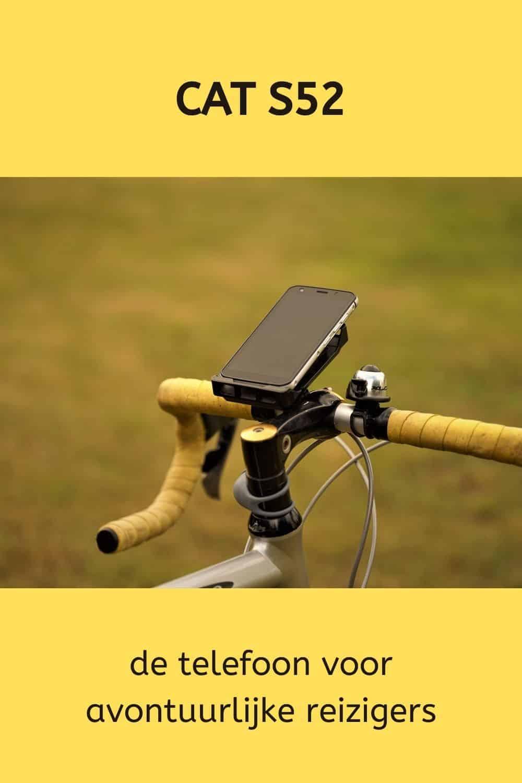 CAT S52 mobiel op reis