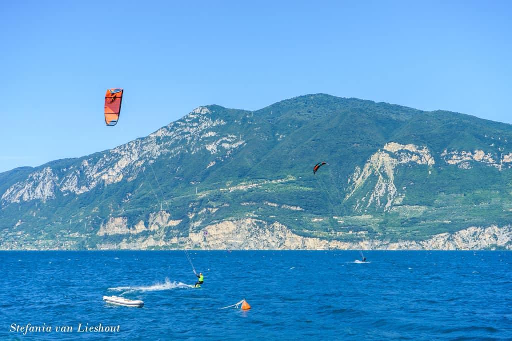 Garda Lake kitesurfing